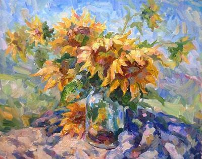 6. _Sunflowers