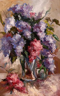 4. _Lilac in vase