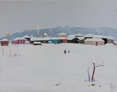 4- Snowy village2015