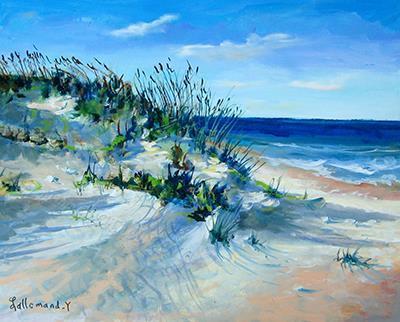Acrylique dune landaise