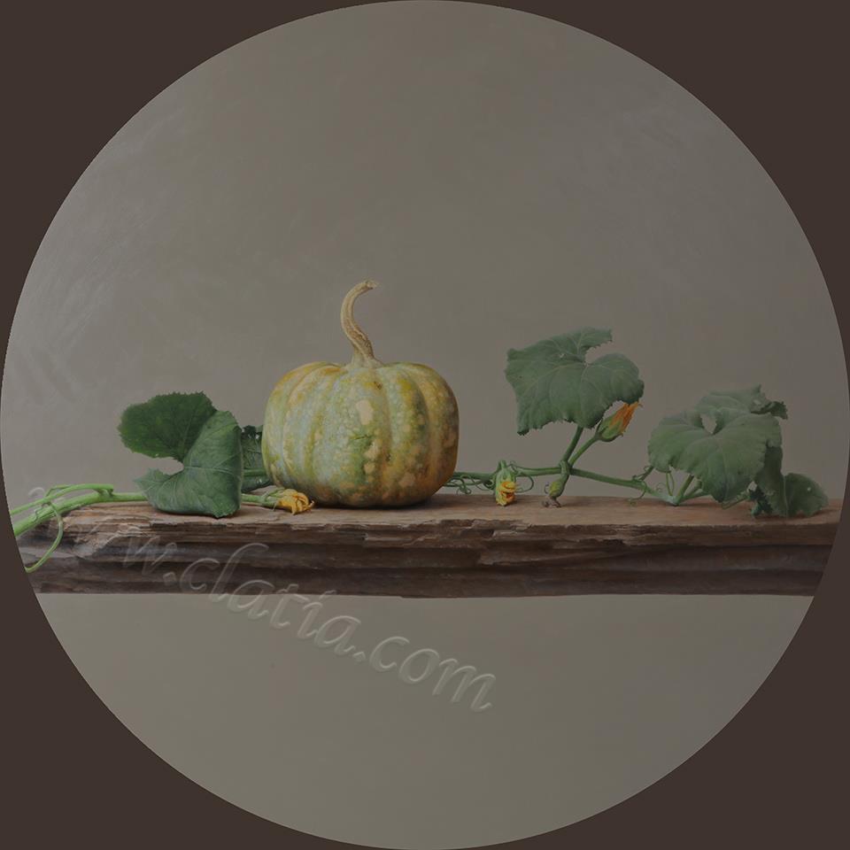 秋韵-布面油画