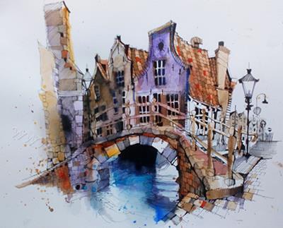 Delft, Holland