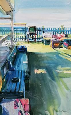 Ship Bar Watercolor 2019