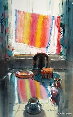 At home  Watercolor 2016