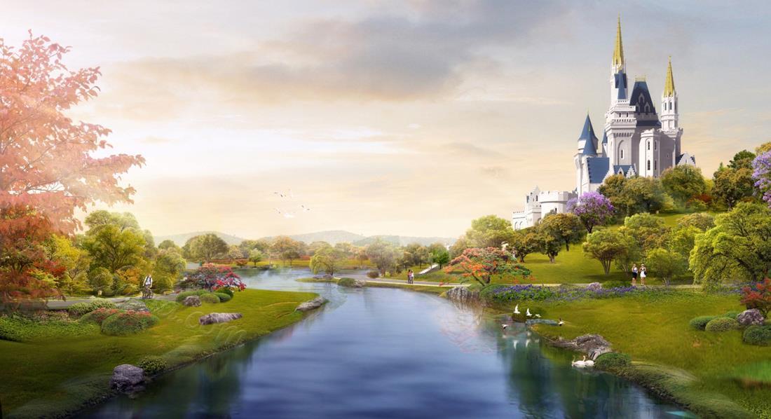 中国-玫瑰谷-玫瑰城堡
