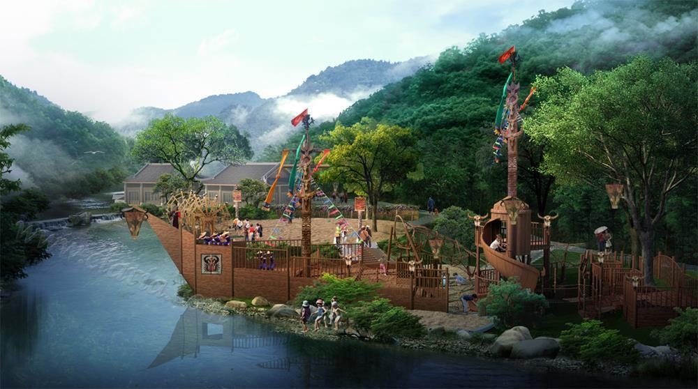 湖南上堡古国生态文化旅游景区景观设计