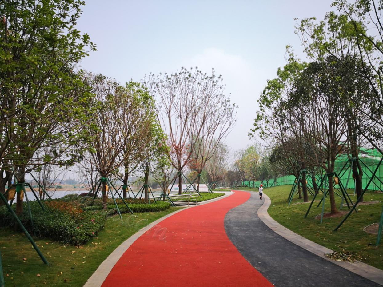 华夏幸福彭山产业新城中央公园2