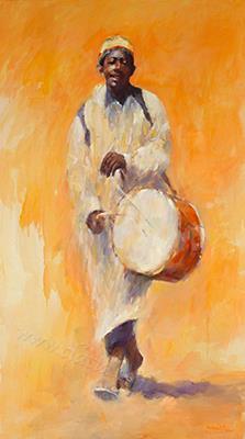 Drummer (Plage Abouda Maroq) ,