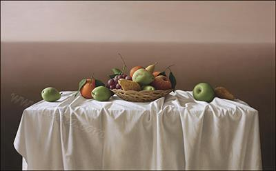 Still life, oil on canvas