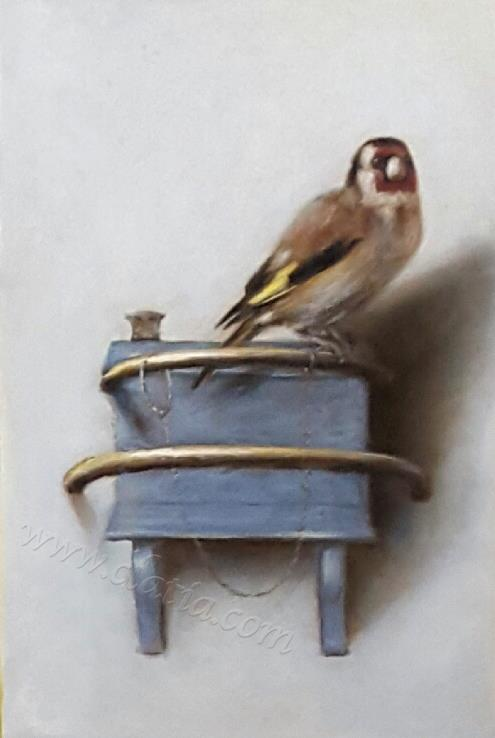 Goldfinch from carel Fabritius