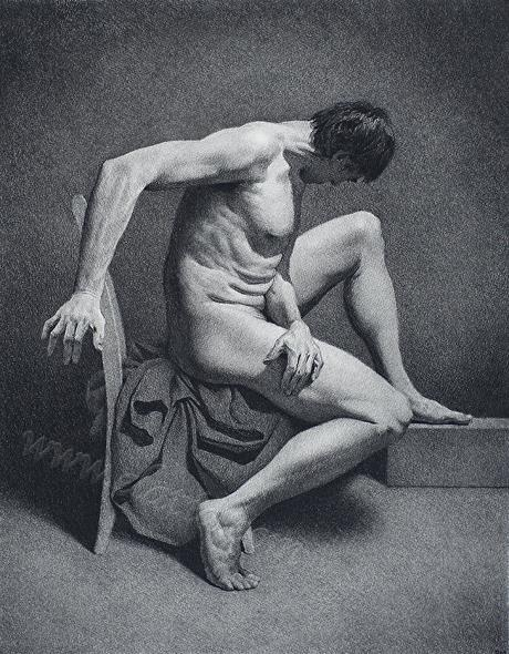 Reconsidered in Charcoal
