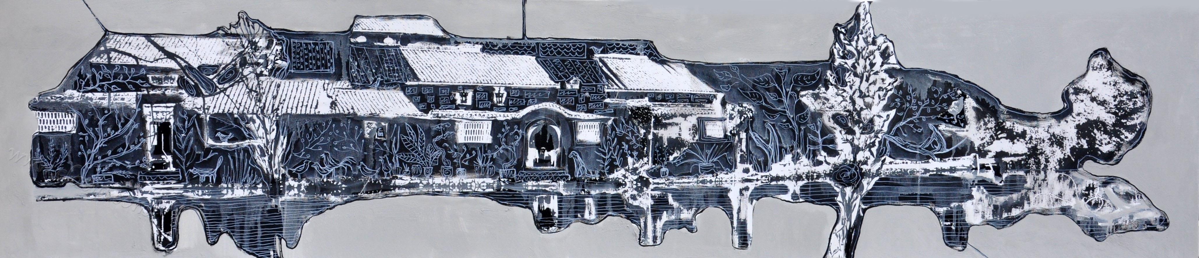 Летающий город х.м.45х200 2016