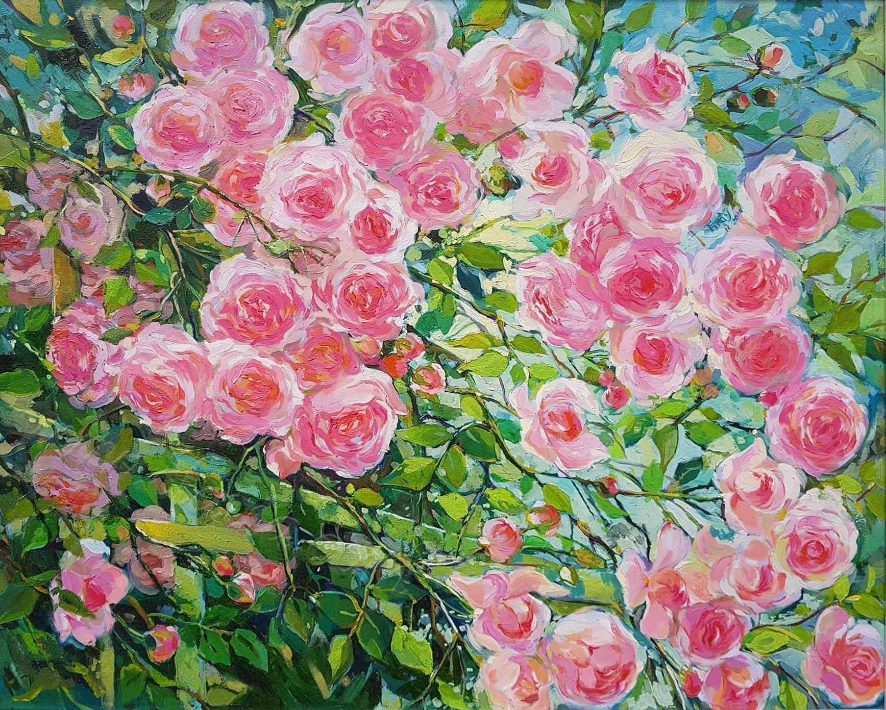 Fence of roses