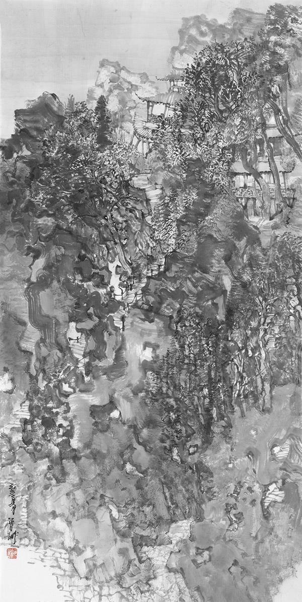 素园叠翠之一
