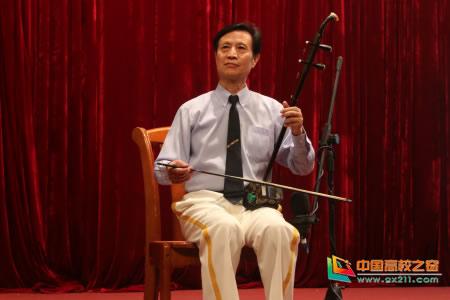 著名二胡演奏家蒋才如做客四川农业大学青春大讲堂