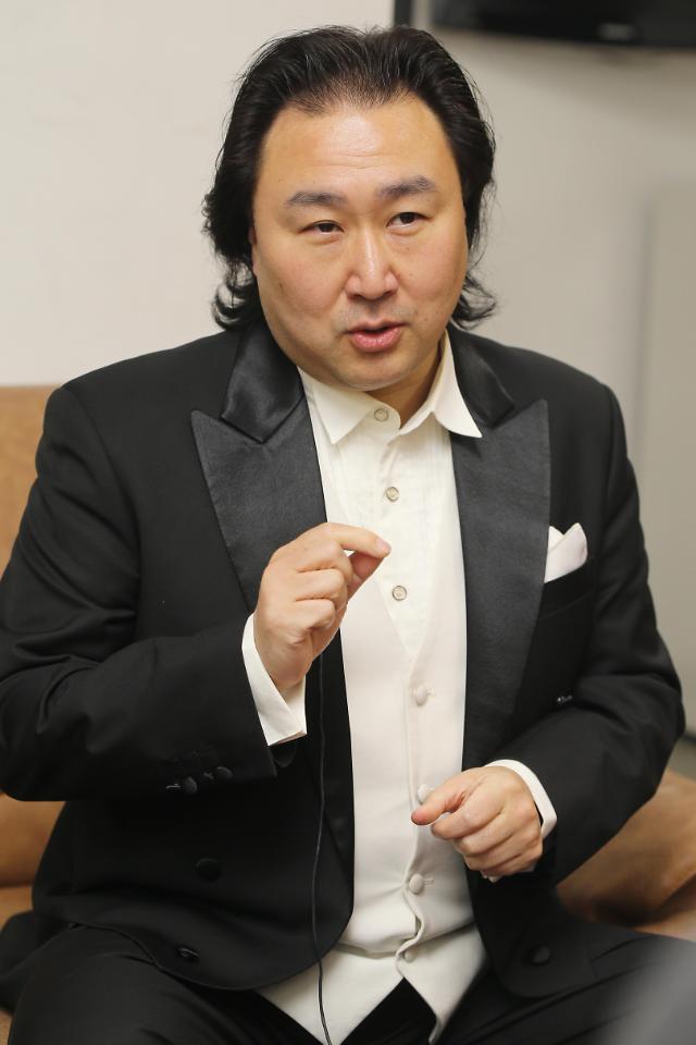 专访男高音歌唱家唐竹雅:艺术交流促韩中关系发展