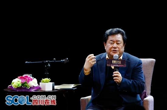 《爱我中华》作曲徐沛东来成都讲座:音乐创作要深入生活扎根泥土
