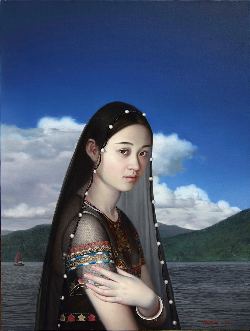 艺术之后的艺术:穿越异度的暗示  ———刘延明油画的艺术特征