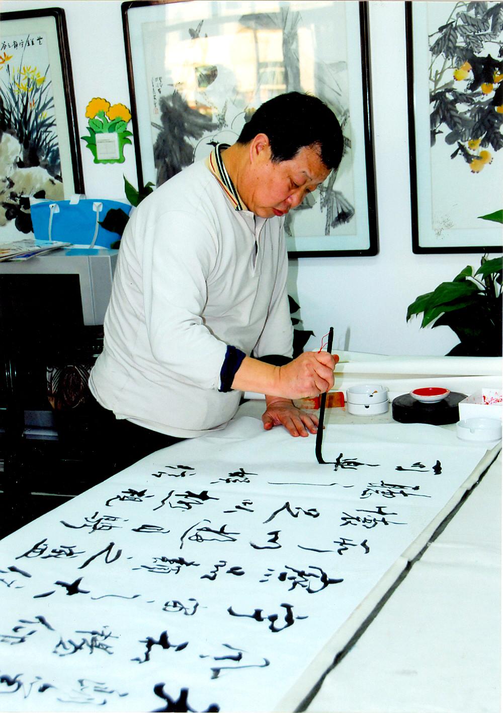 中国书法兰亭奖理论奖得主吴振锋先生评价: