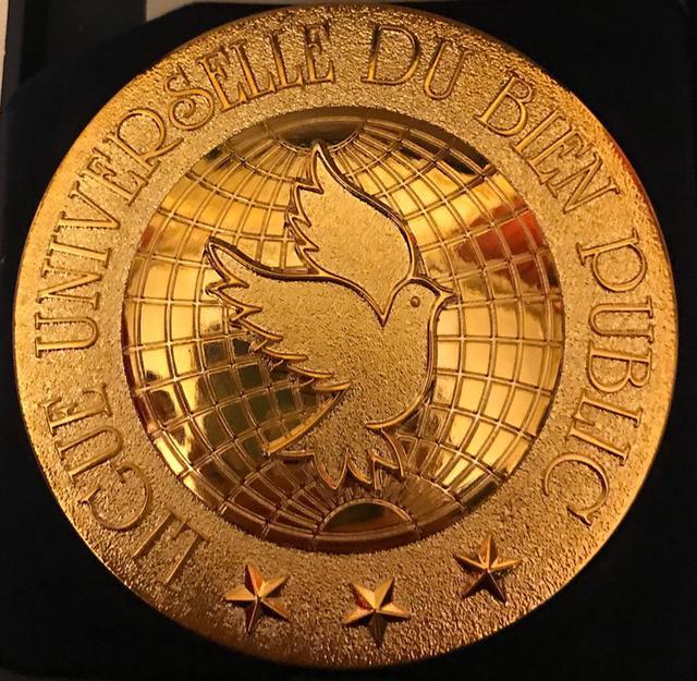 中国艺术家柳旭日荣获联合国公益联盟文化(艺术)金质骑士勋章